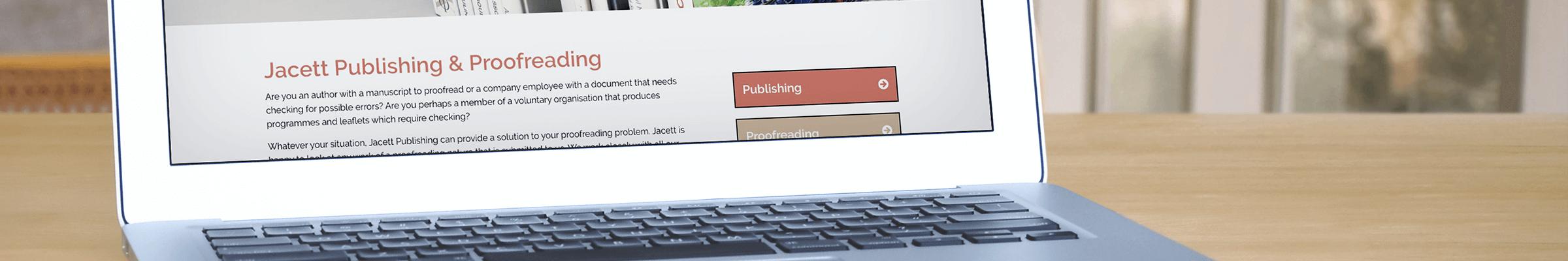Jacett Publishing goes live